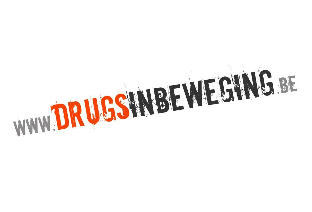 logo ontwerp DRUGS IN BEWEGING