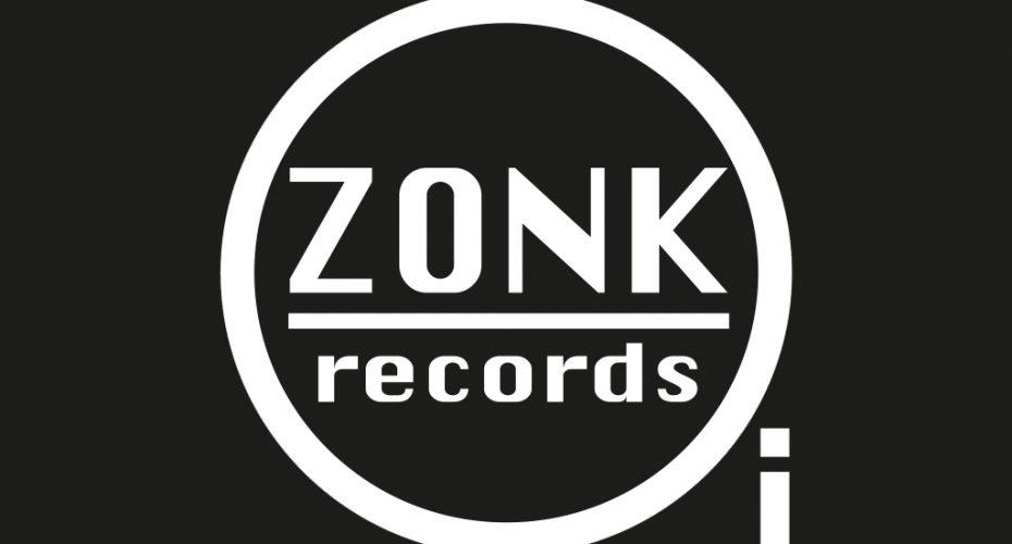 logo ontwerp voor Muziek Label ZONK! Records