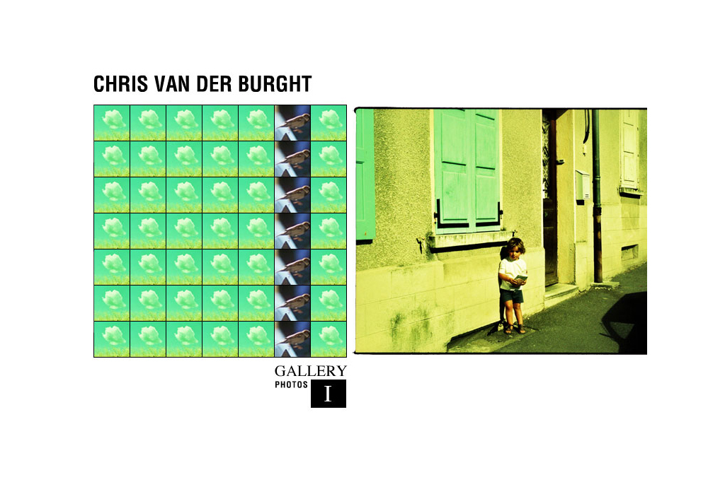 Webdesign - flash - fotografie - Chris Van der Burght