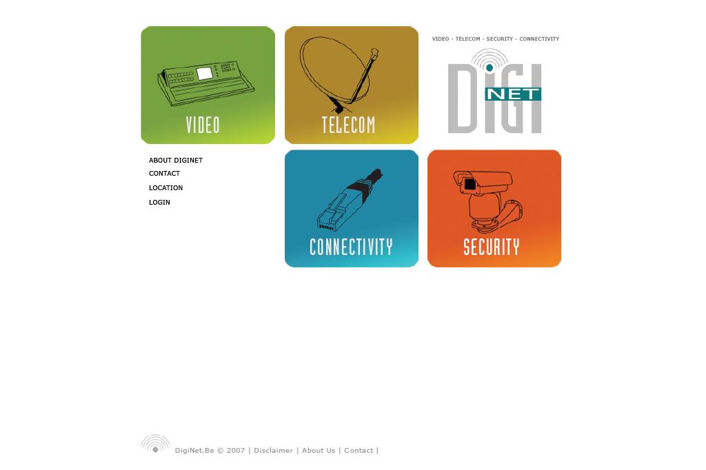 Webdesign - DIGINET