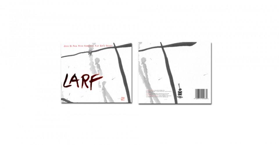 Larf - Flat Earth Society & Josse De Pauw - Cd ontwerp