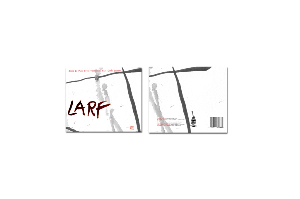 Larf - Flat Earth Society & Josse De Pauw - Cd ontwerp