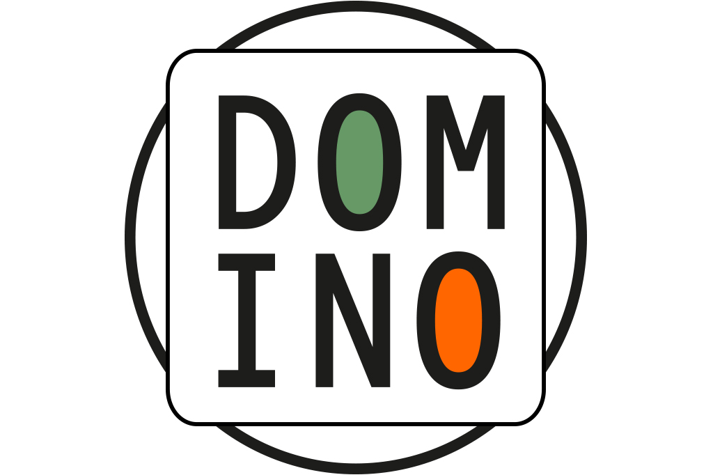 Logo design DOMINO