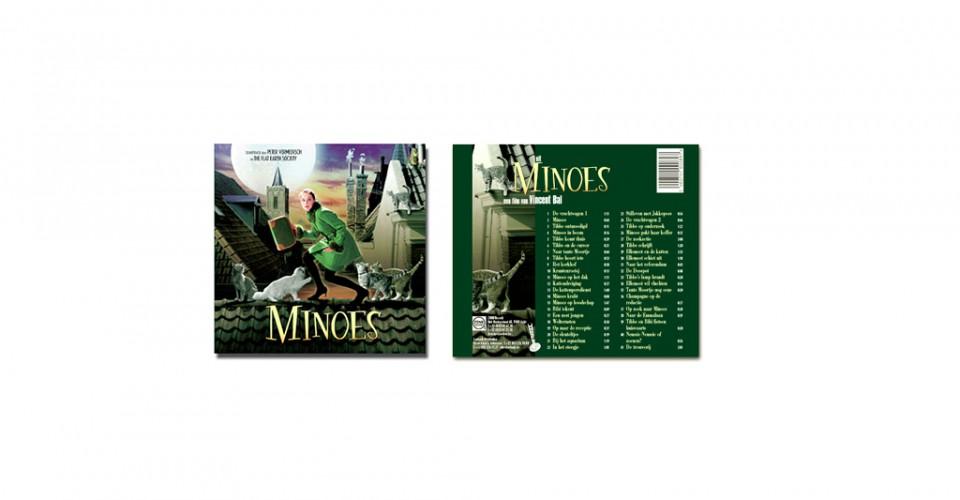 Minoes Cd ontwerp - Leen De Smedt BALLYHOO