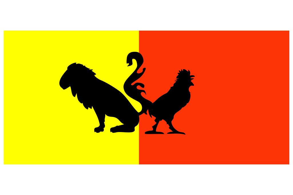 Vlag Belgie - Het Laatste Nieuws - illustratie