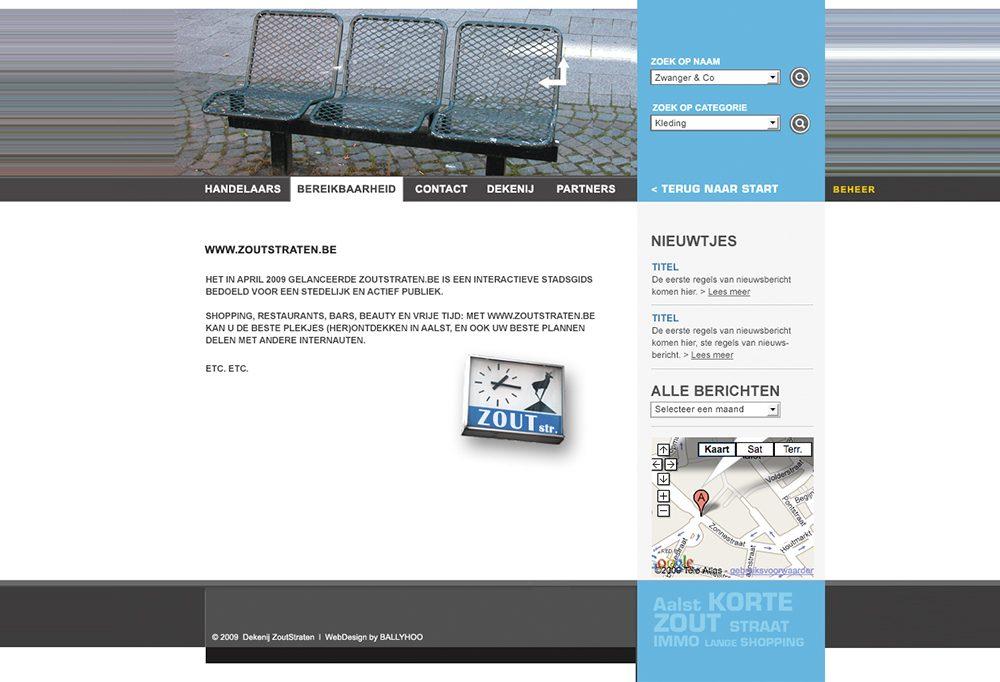 Webdesign - Dekenij Zoutstraten Aalst