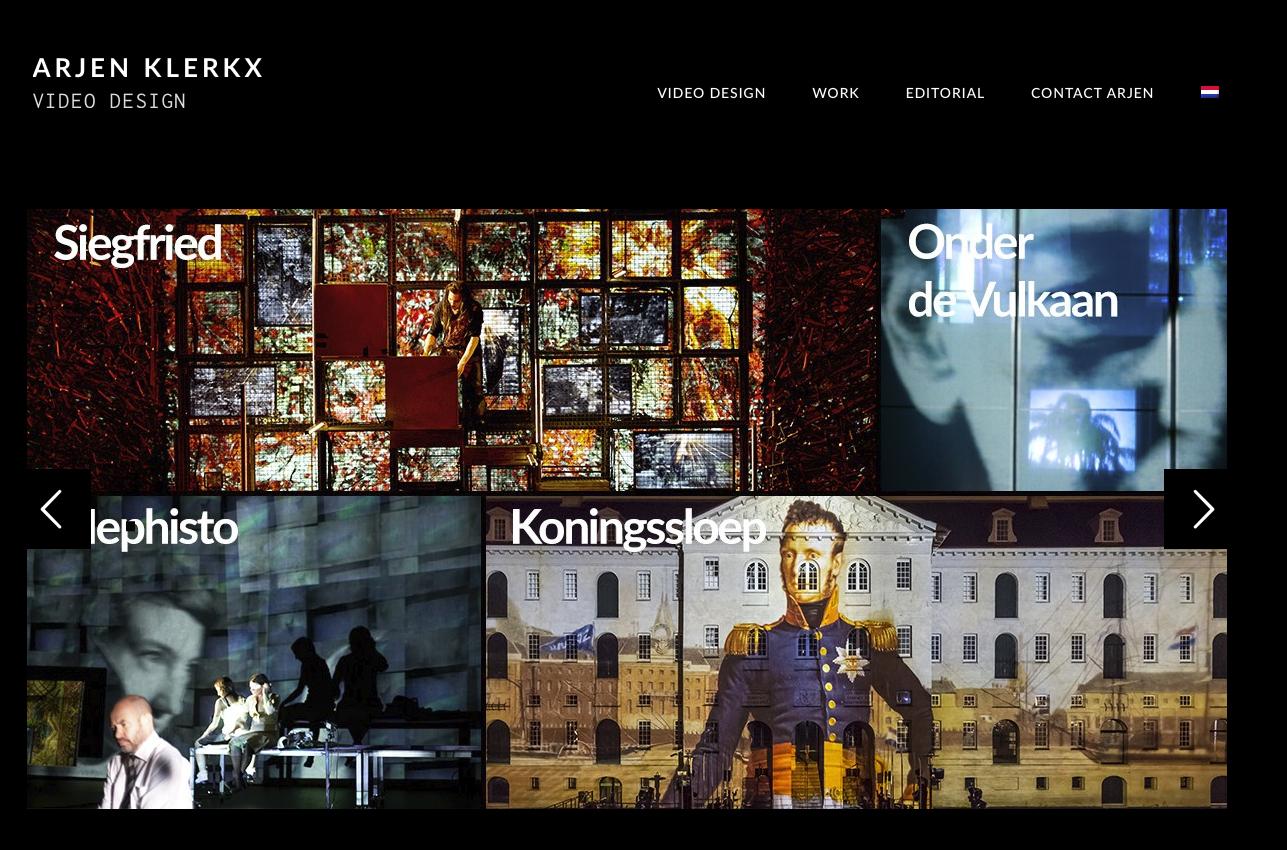 Arjen Klerkx Video design